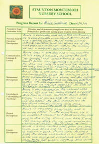 Example of a Report