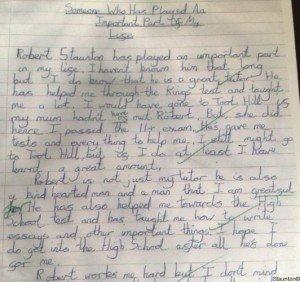 Staunton Tuition Testimonials
