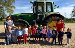 Farming week at Staunton Montessori