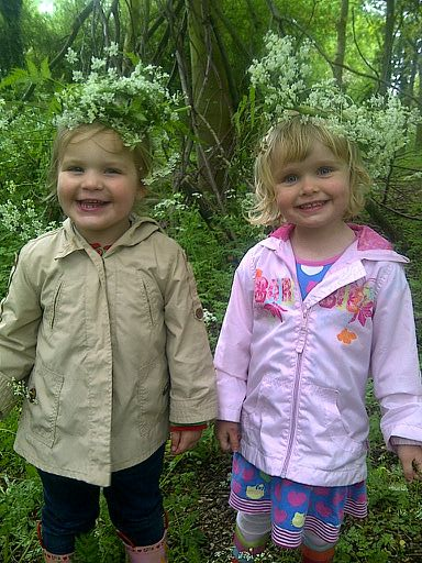 Children learn Montessori practical life, art and craft skills in our Forest School