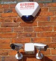 CCTV cameras & alarms at the school