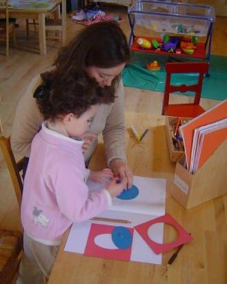 Teaching at Staunton Montessori