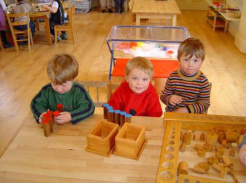 Children at Staunton Montessori