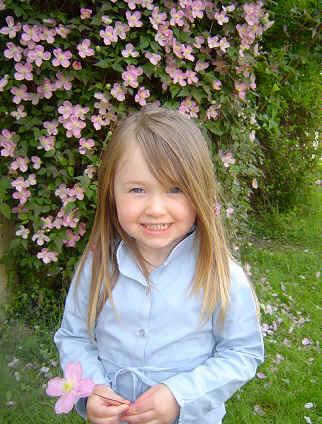 In the gardens at Staunton Montessori
