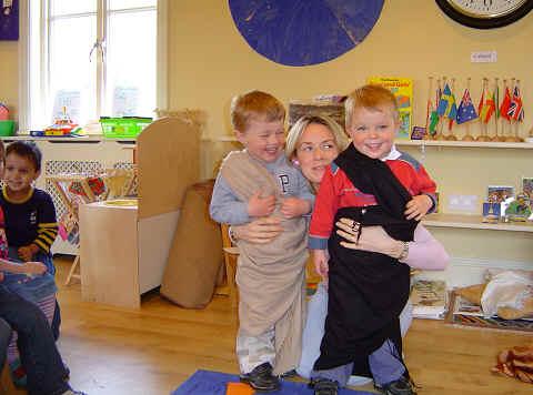 Creative play at Staunton School